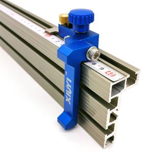 Haufen Holzbearbeitungsmaschinen Teile Aluminium-Profil Zaun und T Spur Slot Gleitbügel Gehrungsfugenlehre Zaun Stecker für Holzbearbeitungs Ro ...