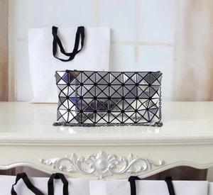Designer de mode femmes sacs à main sacs fourre-tout Bao miroir réfléchissant en cuir femmes bourses sacs pliants sacs géométriques Designer