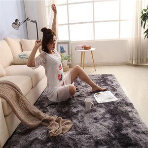 New Simple Nordic Carpet Long Plush Soft Carpet Rug for Bedroom Living Room NE