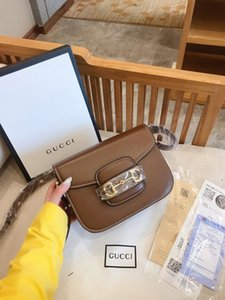 2020 new fashion bags top quality shopping party charm wild gold buckle shoulder bagR0JB