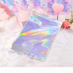 A Hologram Aluminum Foil Adhesive Pouch Courier Storage Bags Envelope Poly Mailer Postal Shipping Mailing Pouches for Big Max&#039