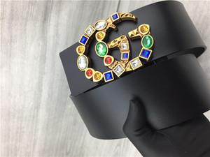 carta de señora de moda hebilla de cinturón ancho. Alto grado de coincidencia vestido perfecto para mostrar el temperamento cinturón de alta calidad.