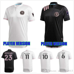 VERSION PLAYER maillot INTER MIAMI 2020 2021 HOME LOIN beckham 20 21 PIZARRO Ben Sweat Pellegrini INTER MIAMI T-SHIRT de football FC