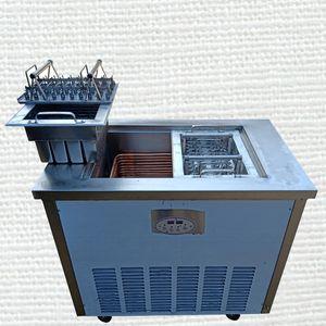 máquina popsicle Venta máquina popsicle modo simple y doble comercial automático de acero inoxidable con 220v molde