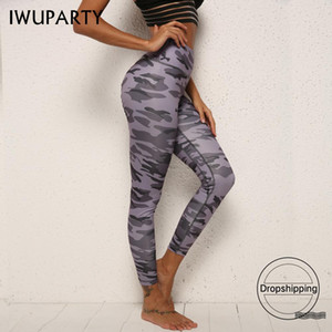 Camuflaje Push Up Workout Leggings Pantalones Stretch Athletic Sportswear mujeres Booty Scrunch Fitness pantalones Jogging Butt plegable