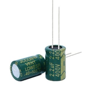 400v2.2uf Jccon Aluminum Electrolytic Capacitor Volume 8x12 Switching Power