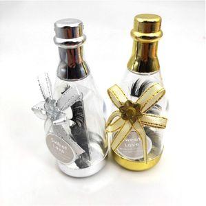 NEW Cute форма бутылки дрейфующих Ресницы упаковочной коробки оптовой Lash коробки Упаковка ресницы косметичку для хранения