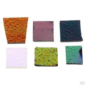 252 G Various Dichroic Glass Pieces For Earring Pendants, Melting Glass Accessories