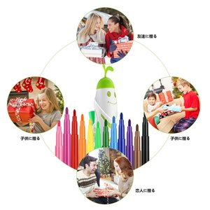 Creative Electric Spray Art Pen Airbrush Marker Set Watercolor Paint Pen Magic Pen Coloured Markers Childrens Kids Toy Gift
