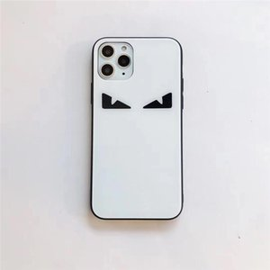 One Piece Luxury phone case For iPhone 11 6S 7 8P XS XR promax fashion eye with glass Designer phone case back cover