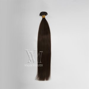 fusion Pre Bonded u tip human hair extension colorful nail hair Brazilian human hair long natural black 613 blonde keratin 1g strand