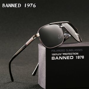 2020 new Men's Aluminum Polarized Mens Sunglasses Mirror Sun Glasses Square Goggle Eyewear Accessories For Men Female gafas CX200706