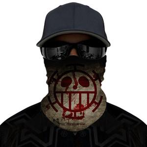 Outdoor Seamless Magic Scarf Face Mask Cycling Riding Masks Warm Tubular Neckerchie Unisex multi-function Facial Masks LJJP81