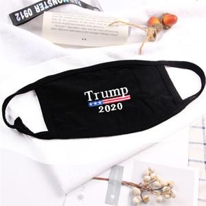 Trump Máscara 2020 Mascarillas Diseñador prueba de viento Anti-polvo de algodón de la manera Máscara 5 estilos Máscara reutilizable lavable