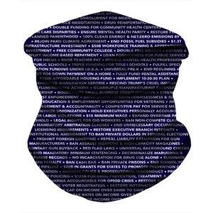 2020 Silk Lange Biden Maske Luxuxentwurf Brand New Design Strand-Decke Schal tragen Swimwear Bandana Hijab Face Shield Pas # 750