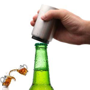 Drucktypen Automatische Flaschenöffner Edelstahl Bier Schraubendreher Rose Goldene Farbe Flaschenöffner Heißer Verkauf 7 3hj L1