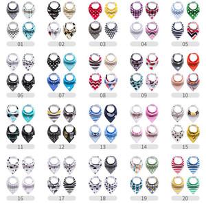 400 Designs Baby Bibs Algodão Orgânico e Absorvente Bebê Bandana Drool Bibs para Recém-nascidos Meninos Meninas Presente