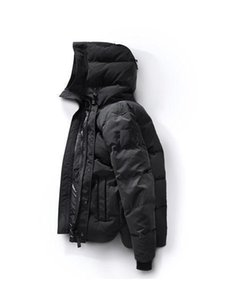 Moda-2018 Invierno ganso abajo top con capucha Canadá hasta mens p chaqueta de camuflaje cremalleras caliente hacia abajo chaqueta de las capas exteriores de alta calidad AAAAAAAA