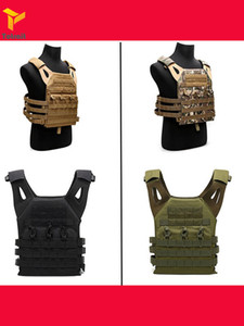 Hanwild Jagd Tactical Vest Body Armor Jpc Molle Platten-Fördermaschine-Weste im Freien Cs Spiel Kampf Paintball Airsoft Weste Jagd Equ