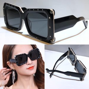 New fashion sunglasses 0689S square frame with small diamond sunglasses top quality simple avant-garde popular style 0689 glasses with case