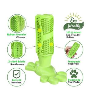 Brosse à dents pour les animaux de compagnie des jouets à mâcher dents Dog Outils de nettoyage chien silicone jouets dents Brossage des dents bâton avec taille moyenne et grande