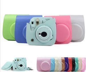 Instax sacchetto della cassa del cuoio della macchina fotografica PU Compatibile per Fujifilm Instax Mini 7s macchina fotografica istantanea 7c e Polaroid PIC-300 Camera