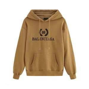 19 moda Paris hoodie de impressão carta rótulo Camisola dos homens de alta qualidade 5 cores hoodies homens e mulheres hoodies outono de manga comprida
