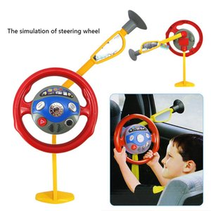 Enfants jouant Toy drôle électronique Backseat Driver Car Seat Volant enfants Les enfants au volant Jouet