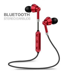 Популярная Беспроводная Связь Bluetooth 4.1 Sweatproof Sport Gym Headset Стерео Наушники Наушники С Шейным Ремешком