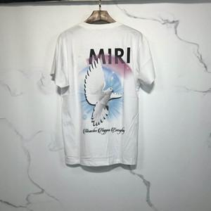 2020 camisetas Verano recto blanco de la manera mujeres de los hombres de la grúa camisetas de algodón del hombre del héroe ropas baratas zdlP780307.