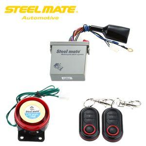 Freeshipping Original Steelmate 986E 1 Vía Alarma de Moto Alarme Moto Alarma Moto Remote Motor Start Stop Moto Protección para BULTACO