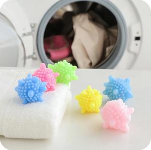 Descontaminación Limpieza de bolas PVC Lavadora Lavado de lavado de plástico Sólido Herramientas de lavandería Anti-Wrap Protección Lavar ropa Herramienta YP724