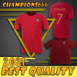 7 RONALDO 20 21 camiseta de fútbol La mejor calidad Portuga 9 EDER 10 J.MARIO 3 camiseta de PEPE 8 J.MOUTINHO Fútbol 1920 Liga Internacional Europea