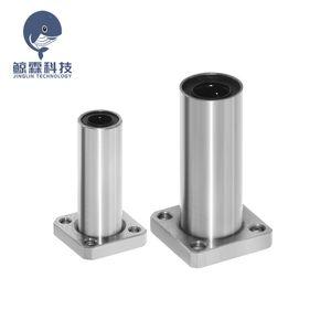 3 Printing 3D Printer Parts & Accessories 8 LMK10LUU LMK12LUU Square Flanged Type Linear Bushing Ball Bearing CNC Parts for 3D Printer