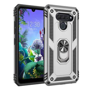 Ударопрочный Доспех телефон чехол для LG Stylo 2 3 5 6 K40 K10 K30 Aristo 4 3 K30 K12 K50 K51 X4 Q60 Plus 2019 2018 Держатель крышки случая стойки