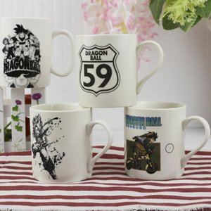 Tazze per latte / caffè OUSSIRRO DBZ Theme SUN GOKU Tazze per tazze colore puro regalo per utensili da cucina