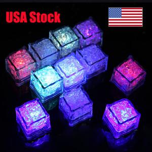 Creazioni Light Up Ice Cubes per le bevande. Ogni bagliore nel buio cubetti di ghiaccio con i 7 modi di colore. Più eventi LED Ice Cubes per le bevande