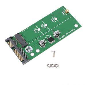 M2 Ngff için Hafıza Kartları Sabit Sürücüler Oyun Aksesuarları SATA3 Sabit Disk Adaptörü Kart Kararlı Yüksek Hızlı Ngff Katı Hal Sürücü için 25 Sata Sma