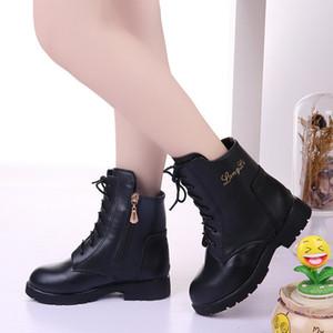 Bambini Boots ragazze di inverno principessa Shoes Edition per bambini Stivaletti Warm Cotton Kids Fashion Calzari Per Ragazze KS650
