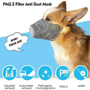 Dog Face Mask Pet Protective Mask Breathable Soft Cotton Mouth Mask Dog Respiratory PM2.5 Anti Dust