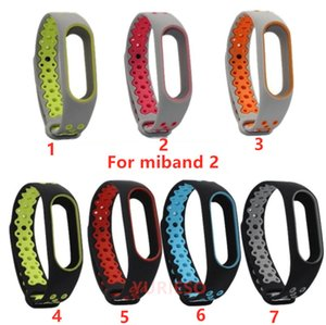for Miband2 Sports Wristband Straps Breathable TPU Soft WatchBand for Xiaomi Miband 2