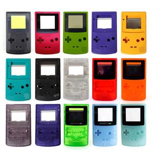 Caso da tampa nova completa Shell Habitação para Nintend Game Boy Color GBC substituição Repair kit de peças Pacote de alta qualidade rápido navio