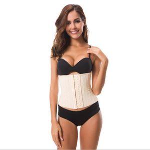 Tummy Shaper Summer traspirante in mesh modellante in vita sigillo postpartum addome 25 alto 25 corsetto in gomma ossea d'acciaio CZ161