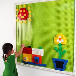 La alta calidad de construcción de bloques de ladrillo juguetes para los niños más nuevo