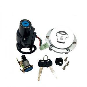 Motocicleta Ignição + Fuel Gas Tank Cap Tampa + Assento teclas de bloqueio para Honda CBR954RR 2002 2003 CBR 954 RR 02-03 bicicletas de corrida