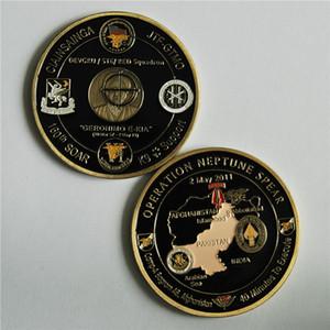 Operación Lanza de Neptuno 160o SE ELEVA la moneda conmemorativa Desafío Equipo 6 del sello Armada
