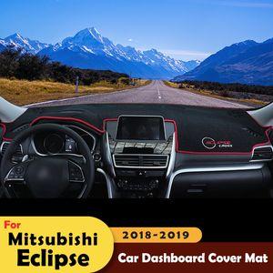 Painel do carro evitar a luz Pad Plataforma Instrumento Desk Tampa Mats Tapetes Para Mitsubishi Eclipse Cruz 2018 2019 Acessórios