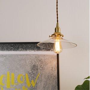 Современные Летающие блюдца формы люстры из стекла Vintage Brass подвеска лампа Спальня Гостинная Внутреннее освещение бесплатная доставка