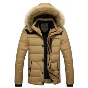 Mens Jackets Splice 2017 jaqueta de inverno de New Men Hot M-3XL estilo britânico Curto Juventude de Inverno Anorak Jacket Black and Red Moda
