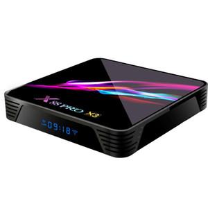 X88 PRO X3 Android 9.0 TV Box Amlogic S905X3 4GB 32GB 2.4G 5G Wifi Bluetooth vs Set Top Box H96 MAX